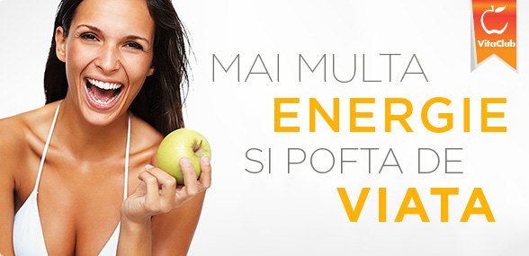mai multa energie si pofta de viata