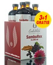 Cumperi 3 sticle de SambuRex si primesti 4