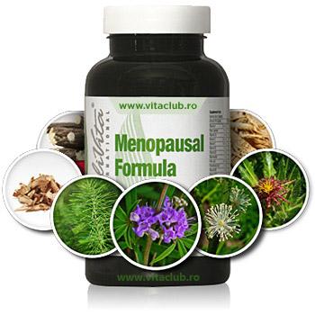 Menopausal Formula de la Calivita, produs pentru femei aflate la menopauza