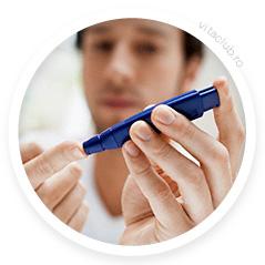 test de diabet