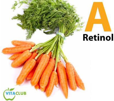 vitamina A, beta caroten si carotenoide din morcovi
