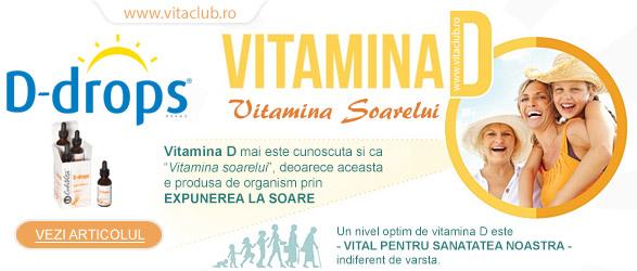 vitamina D sau vitamina soarelui