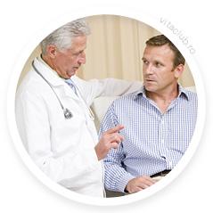 doctor face test de prostata