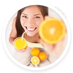 vitamina C portocale